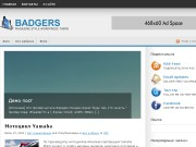 Тема WordPress Badgers