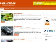 Тема WordPress Corage