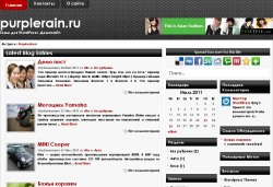 тема wordpress darkstic