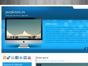 Тема WordPress Evander