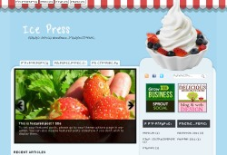 тема wordpress ice-press