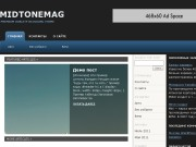Тема WordPress Midtone