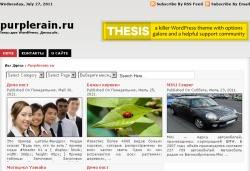 тема wordpress minizine
