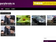 Тема WordPress Purplex