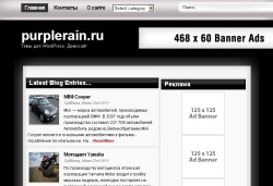 тема wordpress silvery