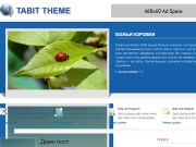 Тема WordPress Tabit