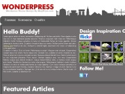 Тема WordPress Wonderpress